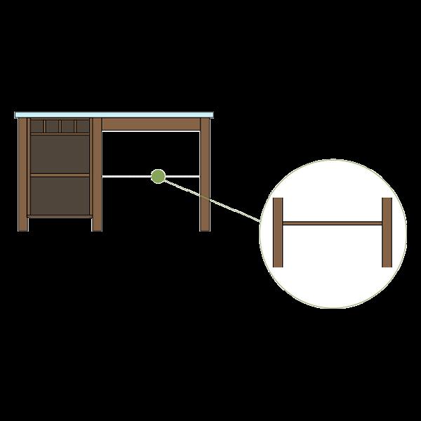 Fixed Middle Shelf